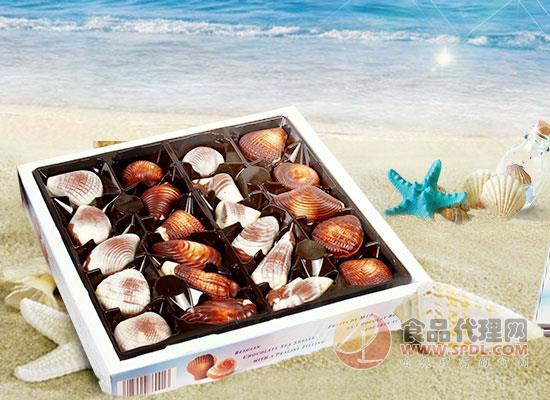 吉利莲巧克力味道怎么样,贝壳般的造型让人舍不得下口