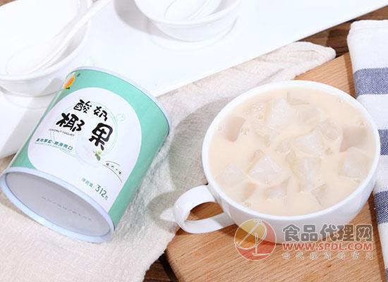 桃壹佰酸奶椰果罐頭價格是多少,送禮好選擇