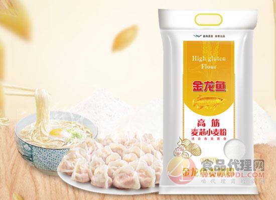 金龍魚高筋面粉多少錢一袋,筋道好面