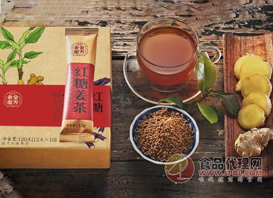 老金磨方紅糖姜茶價格是多少,甜而不膩