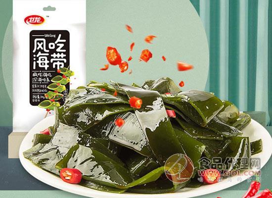 衛龍風吃海帶168g好吃嗎,味道