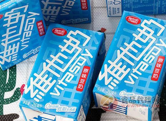维他奶原味豆奶250ml价格是多少,一杯豆奶营养早餐