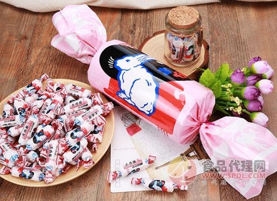 大白兔紅豆奶糖200g價格是多少,樂享新滋味
