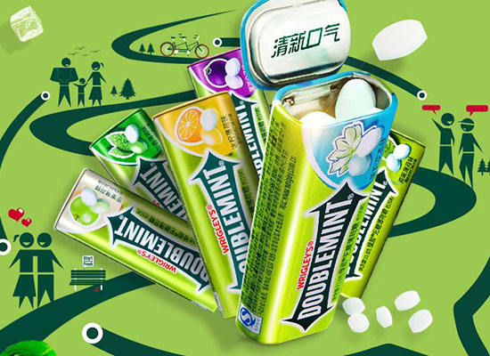 绿箭无糖薄荷糖357g价格是多少,清新口气清凉舒爽
