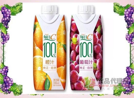 康师傅布局果汁市场,每日C100%果汁新品上市