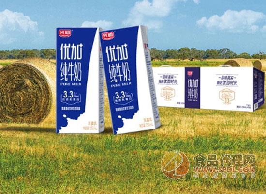 光明牛奶价格是多少,奶源源自优质生态牧场