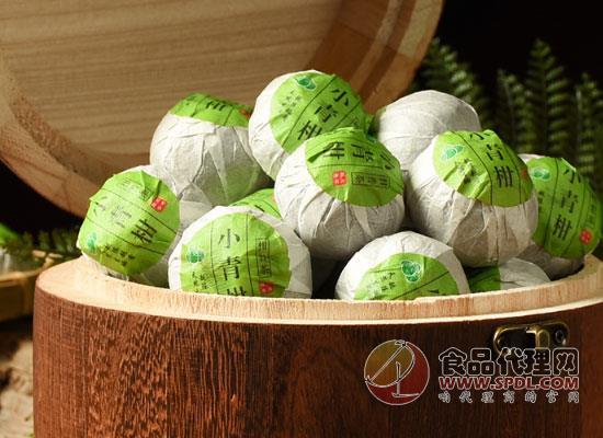陳一凡小青柑普洱茶價格是多少,夠檔次夠分量