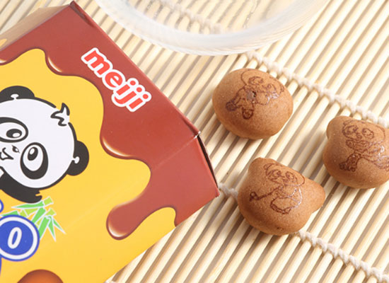 meiji巧克力饼干好吃吗,美味根本停不下来
