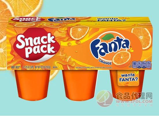 可口可乐和Conagra联手,推出芬达口味的布丁胶状果汁