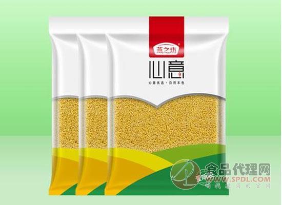 燕之坊心意黃小米價格是多少,色澤金黃
