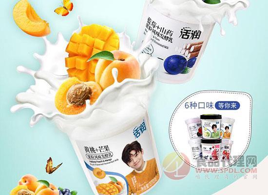 新希望大果粒低溫酸奶價格是多少,新鮮酸奶嚼著吃