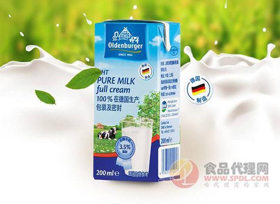 欧德堡牛奶好喝吗,营养品质看得见