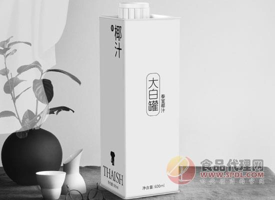 泰室大白罐椰汁价格是多少,一口就会爱上