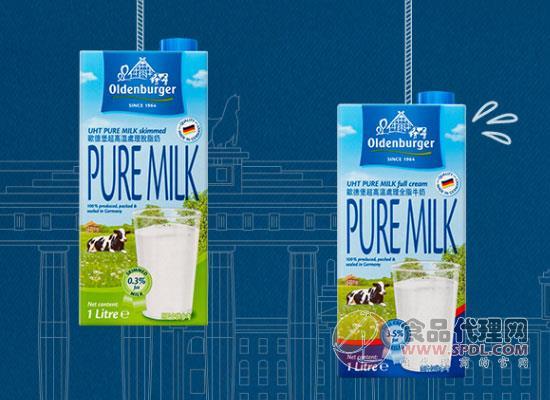 欧德堡部分脱脂牛奶好喝吗,享受纯净的牛奶芳香