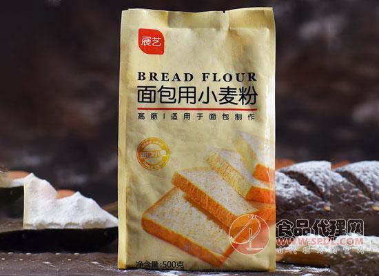 展藝面包用小麥粉價格是多少,細膩柔軟