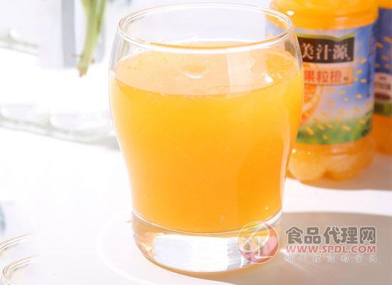 美汁源大瓶果粒橙价格是多少,喝前摇一摇