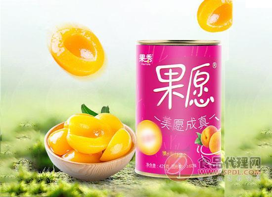 果秀黄桃罐头好吃吗,精选砀山优质黄桃