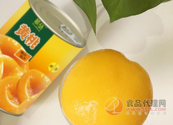 黃桃罐頭什么牌子好吃,順碭黃桃罐頭果香濃郁