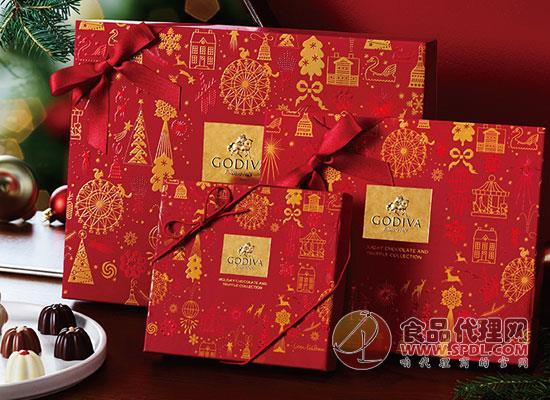 歌帝梵圣诞巧克力多少钱,专为圣诞节设计