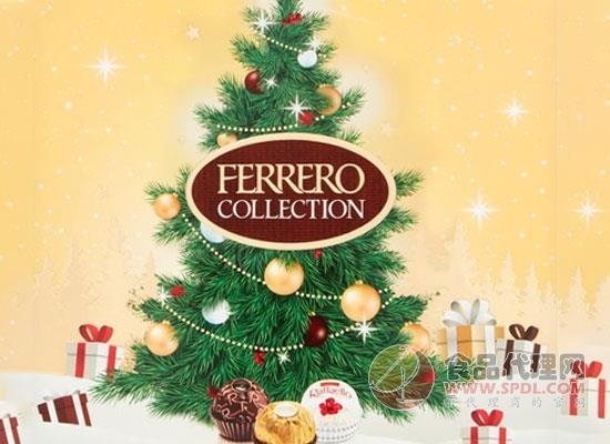 费列罗圣诞巧克力怎么样,颜值超高