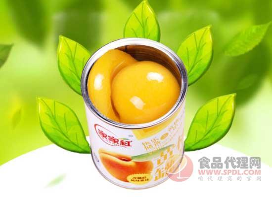 家家红黄桃罐头怎么样,开启自然清新之旅