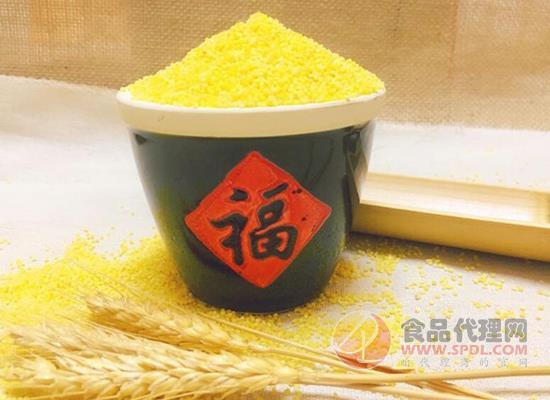 乾安黄小米价格是多少,手工精选优质小米