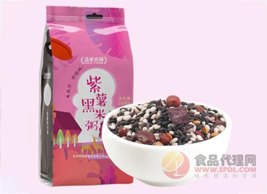 盖亚农场黑米紫薯粥多少钱,一口香浓又健康