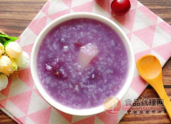 紫薯做什么粥好喝,這三種粥很不錯