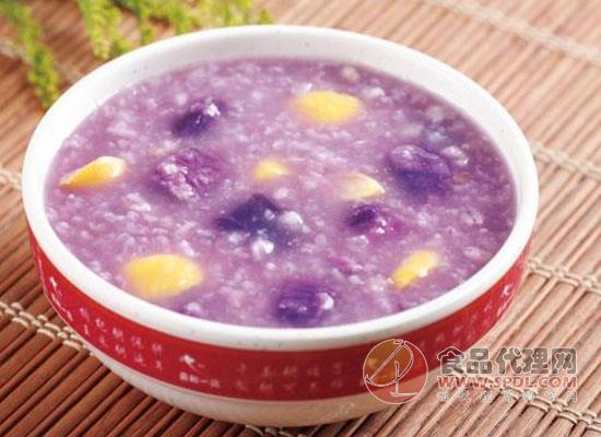 小米紫薯粥的做法分享,步骤简单容易上手