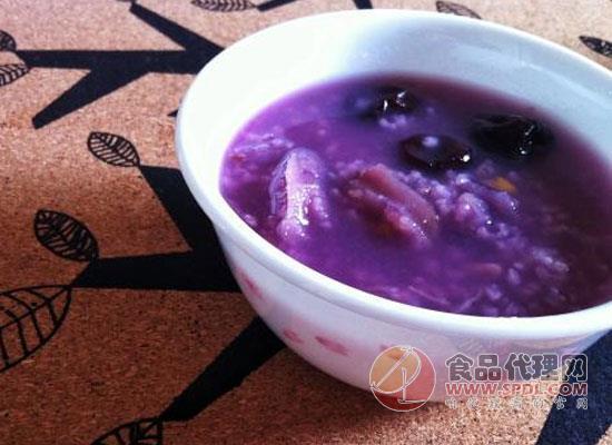 红枣紫薯粥的做法分享,这样做全家都爱吃