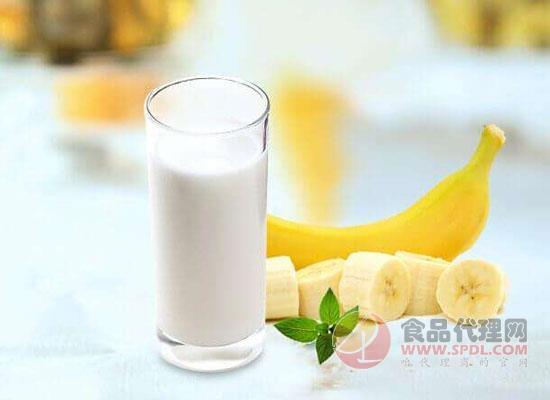 香蕉牛奶可以当早餐吗,天然的美容圣品