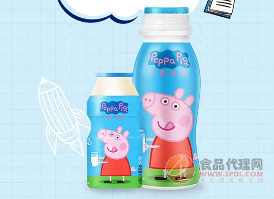 小猪佩奇AD钙奶好在哪里,促进钙质吸收