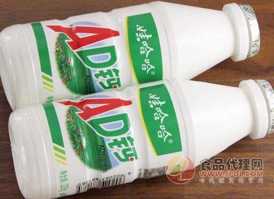 娃哈哈AD钙奶好在哪里,不变的配方
