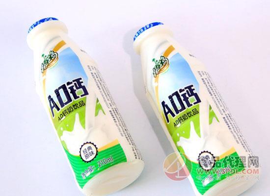 椰汁岛AD钙奶口感如何,童年的味道