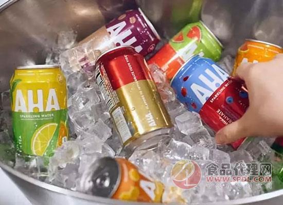 可口可乐打造AHA气泡水品牌,均不含热量