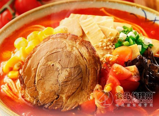 拉面说番茄豚骨拉面多少钱,方便快捷又美味