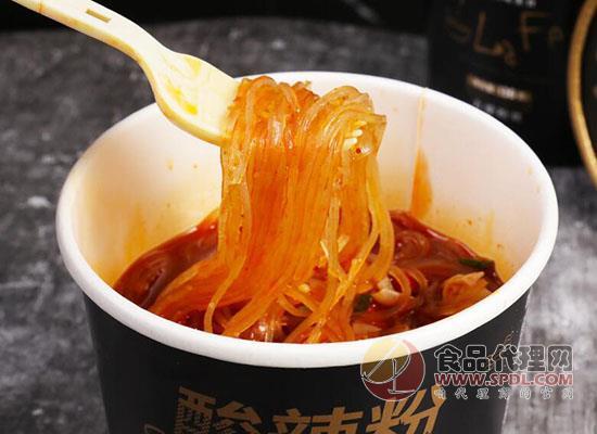莫小仙酸辣粉價格是多少,正宗美味營養好吃