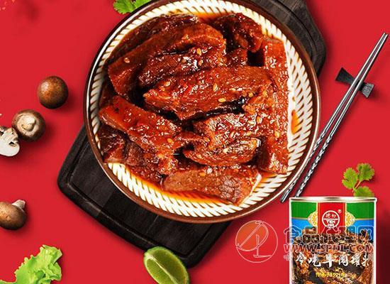 德和牛肉罐頭好吃嗎,色澤油潤鮮美誘人