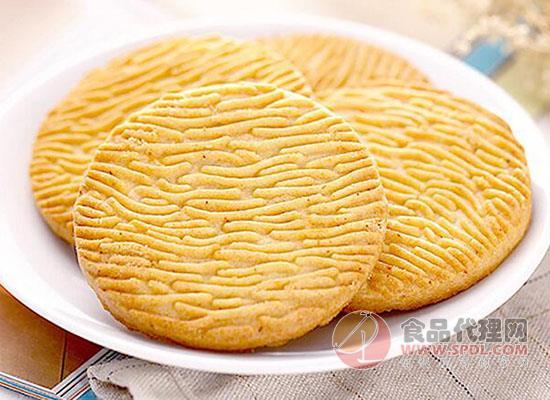 嘉士利猴菇酥性饼干价格是多少,酥脆爽口美味好吃