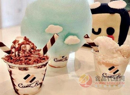 棉花糖冰淇淋的做法分享,好看又好吃