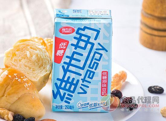 維他奶聯名奈雪的茶,挖掘健康