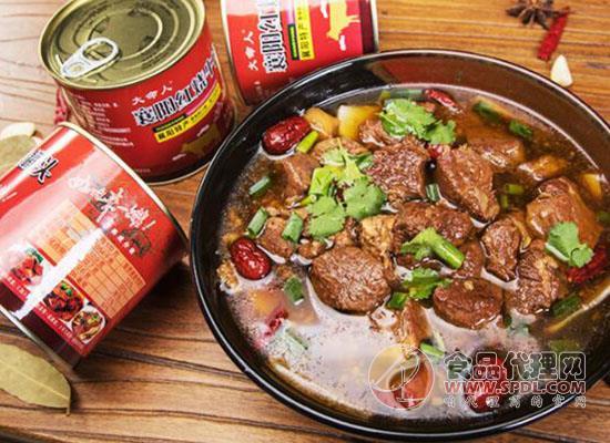 大命人牛肉罐头好在哪里,新鲜美味方便即食