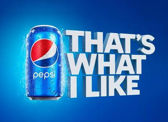 百事可乐在美国市场发布长期广告词——That's what I like