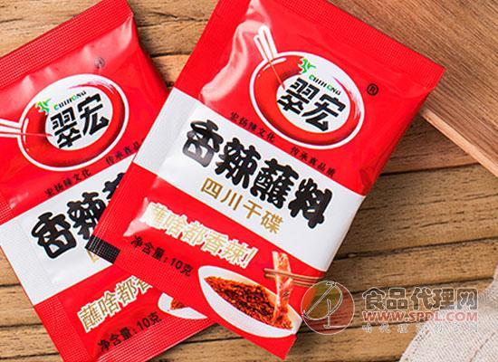 翠宏火锅蘸料多少钱,地道川味麻辣鲜香