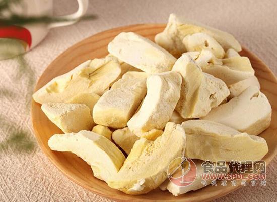 薩瓦迪卡榴蓮干味道好吃嗎,色澤金黃美味舒爽