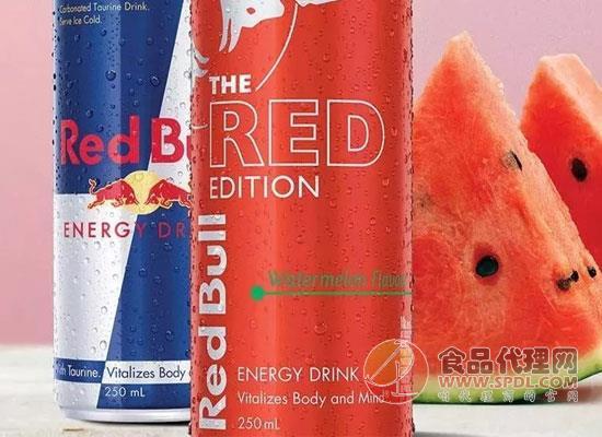 红牛新推西瓜味能量饮料,冬天喝出夏天的感觉