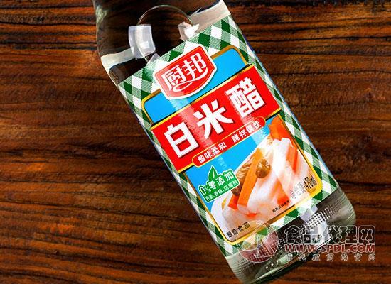 厨邦白米醋的价格是多少, 健康0添加