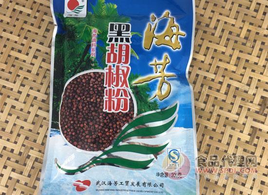 海芳黑胡椒粉价格是多少,营养成分清晰可见