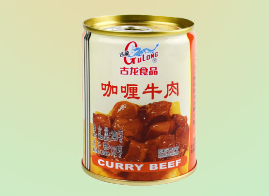 古龙咖喱牛肉罐头好吃吗,每天口味不重样