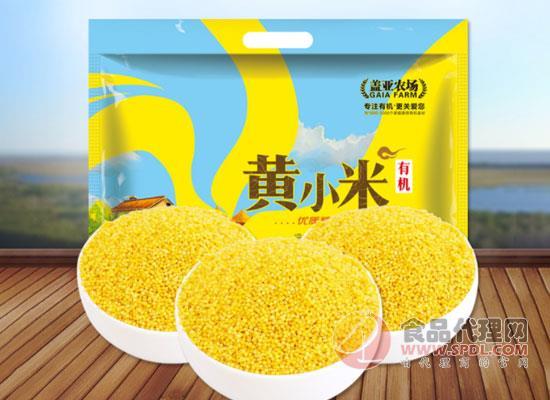 蓋亞農場黃小米多少錢,全程有機可追溯